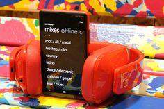 #Nokia #Lumia #820 #red
