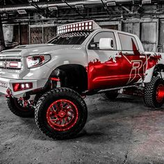 @___relentlesss___ and those Red Bottoms!  #rksport #Toyota #Tundra