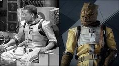 The bounty hunter Bossk's clothing is a recycled spacesuit from Doctor Who (58 Facts You Probably Didn't Know About The Star Wars Movies)