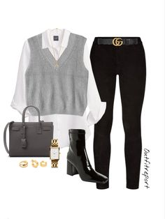 Classy Winter Outfits, Classy Casual, Casual Fall Outfits, Trendy Outfits, Cute Outfits, Plaid Fashion, Fashion Outfits, Business Casual Dress Code, Looks Style