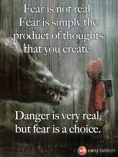 Everyone feels fear and it holds you back. Sometimes it's easier to stay with the fear that you know cuz then you know what will happen and it's not as scary. The complete unknown is the scariest but usually the most rewarding experiences. #whatisfear
