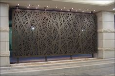 BuildDirect Africa - Laser Cutting and CNC Routing Laser Cut Screens, Laser Cut Panels, Metal Panels, Laser Cut Aluminum, Laser Cut Steel, Wood Cladding, Exterior Cladding, Main Gate Design, Fence Design