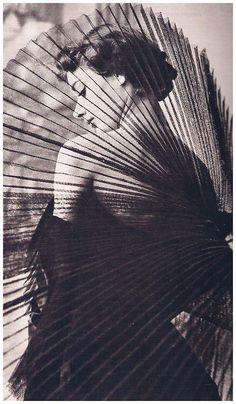 Audrey Hepburn by Horst P. Horst, 1949