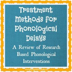 PHONOLOGY This is a great source for Speech Language Pathologists looking for effective therapy methods to treat phonological delays. Phonological Disorder, Phonological Processes, Phonological Awareness, Articulation Therapy, Articulation Activities, Speech Therapy Activities, Educational Activities, Phonics, Speech Pathology