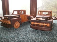 Toys&joys new plan 51 ford pickup - by wiswood2 @ LumberJocks.com ~ woodworking community