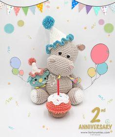 Amigurumi Hippo - FREE Crochet Pattern / Tutorial