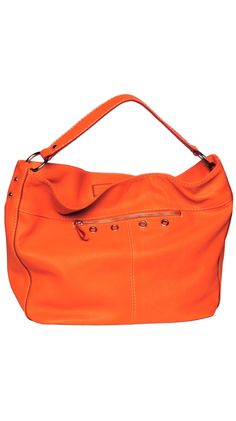 Slouchy Hobo in Tangerine #Repin By:Pinterest++ for iPad#