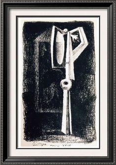 Pablo Picasso Art For Sale Figure c. 1929 Fine Art Print from Museum Artist