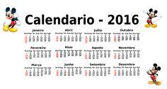 Calendário 2016 Personalizável - Sol Oliveira - Blog Solzinha Artes