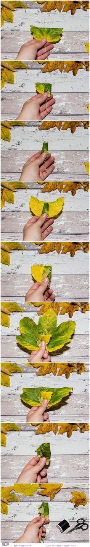 autumn diy idea with foliage - step by step tutorial  #fall #falldiy #diy #diyproject #diycrafts #autumn #foliage #basteln #bastelideen #herbst #herbstzeit #blumen #blumenstrauss