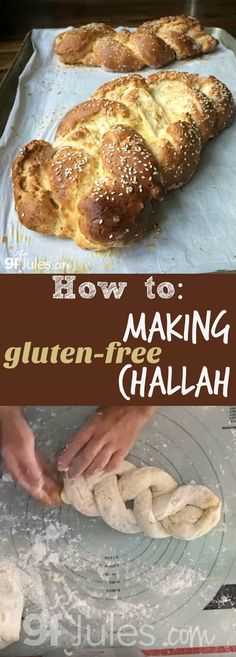 How to Make Gluten Free Challah Gluten free challah is great anytime! Especially when you can't even tell it's gluten free. Made w/ soft, never-gritty gfJules Flour, that's what's you get! gfJules.com