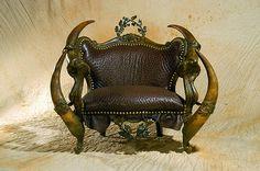 Creepy Furniture from Michel Haillard