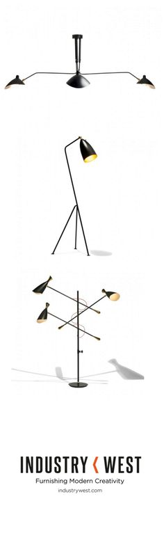 New Ravn lighting from Industry West