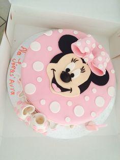 Mini Mouse#birthday cake