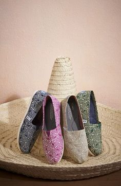 TOMS 'Classic - Circle' Slip-On (Women) | Nordstrom - New Toms for Spring! Love!