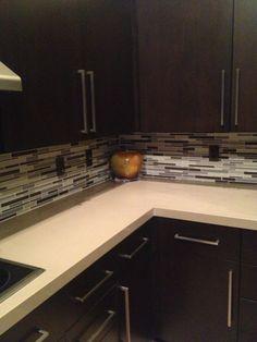 This Beautiful Palm Desert Retreat Kitchen Was Wonderful To Remodel. Kitchen  Backsplash: Akdo Glass