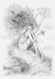 Drawing by Wildwose