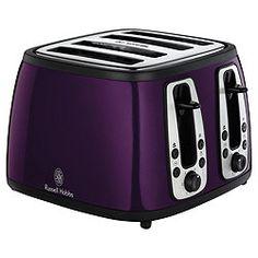 Nicer... #RussellHobbs #purple #toaster #kitchen