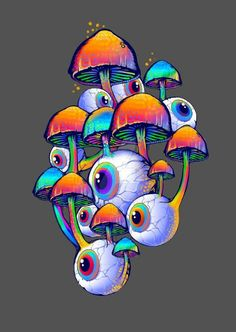 ideas for drawing hippie doodles for 2019 – Graffiti World Trippy Drawings, Psychedelic Drawings, Cool Art Drawings, Art Drawings Sketches, Psychedelic Makeup, Psychedelic Artists, Zombie Drawings, Psychedelic Pattern, Hippie Painting