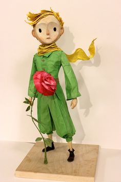 The Little Prince (display puppet) designed and built by Alexander Juhasz.
