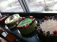 Great Cakes. Starting at $19.00 (no tax).  Wagamama Pastries & Cafe.
