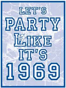 Let's Party Like It's 1963 Sign