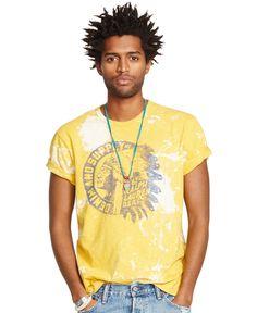 Denim & Supply Ralph Lauren Bleached Jersey T-Shirt