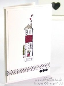 Life's Adventure Stampin' Up! Hostess Exclusive Notecards House