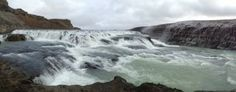 #Gullfoss in #Iceland  #GoldenCircle #roadlesstraveled #travel   Read more about my Iceland #adventure: http://www.ginapacelli.com/2013/12/19/iceland-land-of-fire-and-ice-land-elds-og-isa/