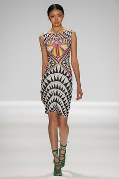 #graphicprint {Mara Hoffman #Spring2014 Ready-to-Wear Collection} #nyfw