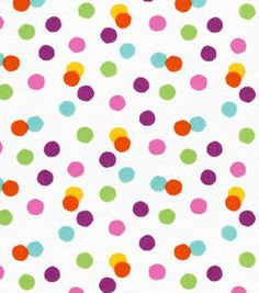 The JOANN online fabric shop has a large selection of cotton flannel fabric by the yard in variety of styles, colors & patterns, for sewing or quilting. Online Craft Store, Craft Stores, Dinosaur Fabric, Red Flannel, Different Patterns, White Fabrics, Diy Art, Color Splash, Dots