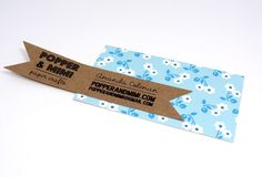 DIY Business Card Label by Amanda Coleman