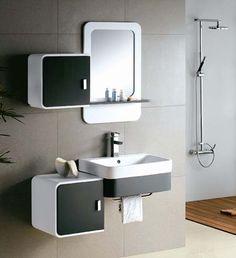 Bathroom Cabinets Modern bathroom cabinets hanging - http://www.houzz.club/bathroom