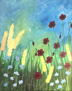 Glitter Girl, Poppies, Paintings, Create, Artist, Pink, Painting Art, Poppy, Painting