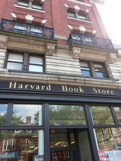 Bucket list - buy a book at Harvard Book Store Places Ive Been, Places To Go, Harvard Square, Dream School, Nyc, Book Nooks, Library Books, Great Books, New England