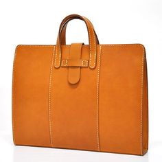 .Leather Carry On Bag