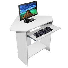 harima donghai professioneller wei computerwagen computertisch b rotisch pc tisch druckerablage b - Computertische Fr Spieler
