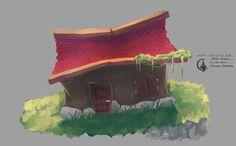 Loren building #architecture #conceptart #painting for #elysianShadows