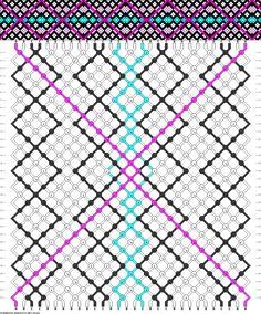 30 strings, 32 rows, 4 colors