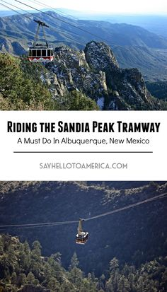 Albuquerque, New Mexico is home to the longest tramway in North America -- a must do when visiting the Southwest. Click for more info or pin for later!