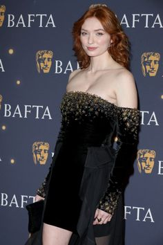 Eleanor Tomlinson Photos - Eleanor Tomlinson attends the BAFTA Film Gala at the The Savoy Hotel, ahead of the EE British Academy Film Awards this Sunday, on February 2019 in London, England. Eleanor Tomlinson, British Academy Film Awards, Gorgeous Redhead, English Actresses, Hollywood Celebrities, Red Carpet Fashion, Girl Pictures, Redheads, Strapless Dress Formal
