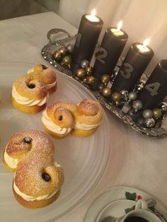 lussesemla1 Grandma Cookies, Cookie Box, Xmas Food, Fika, Doughnut, Recipies, Desserts, Christmas, Xmas Recipes