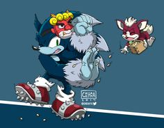 Sonic dressed as an oni, reluctantly celebrating Setsubun with Chip Demons out! Luck in! Sonic Unleashed, Sonic 3, Sonic Franchise, Hot Hunks, Wonders Of The World, Sonic The Hedgehog, Fan Art, Deviantart, Demons