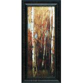 Found it at Wayfair - Birch Forest II Framed Painting Print
