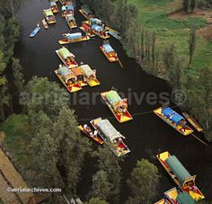 Traffic jams in Mexico City can be challenging...Xochimilcans are very dexterous in these situations