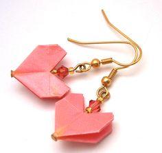 Origami Earrings                                                                                                                                                                                 Mais