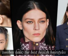 Tomboy hairstyles to rock right now