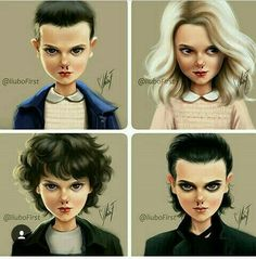 Stranger Thing s Eleven Eleven Stranger Things, Stranger Things Netflix, Stranger Things Season, Stranger Things Fan Art, Prince Charmant, Don T Lie, Millie Bobby Brown, Best Series, Series Movies