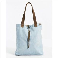 Reversible canvas tote New with tag Urban Outfitters Bags Totes
