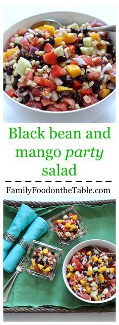 ... black bean and mango salad black bean and mango party salad great